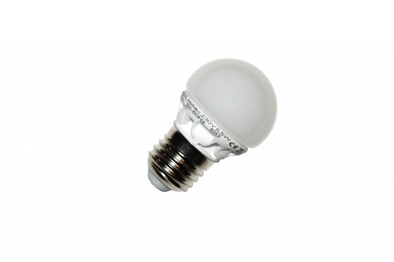 LED žiarovky LED Žiarovka IMMAX E27/5,5W G45 500lm 230V