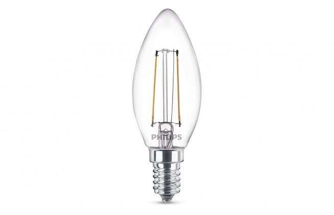 LED žiarovky LEDClassic 25W B35 E14 WW CL ND 1BC/4