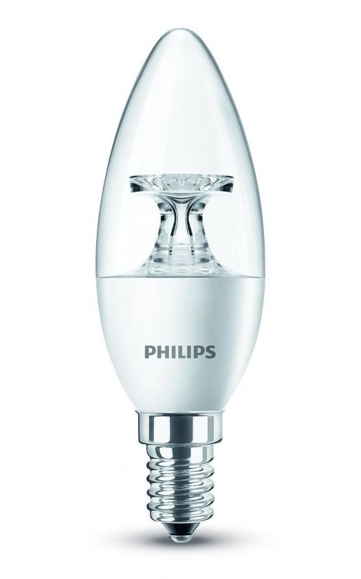 LED žiarovky Philips LED žiarovka 40W E14 WW 230V B35 CL ND/4