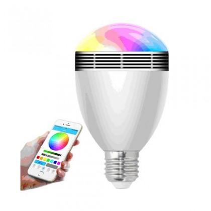 LED žiarovky SMART bluetooth žiarovka X-SITE BL-06G + 2 farebné LED žiarovky