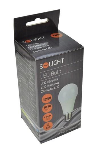 LED žiarovky Solight LED žiarovka E27 12W 6000K (WZ509)