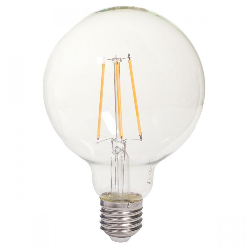 LED žiarovky Tesla LED žárovka CRYSTAL RETRO GLOBE E27 8W