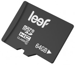 Leef 64GB microSDXC (Class 10)