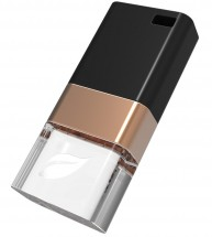 Leef USB 32GB Ice Copper 3.0 black