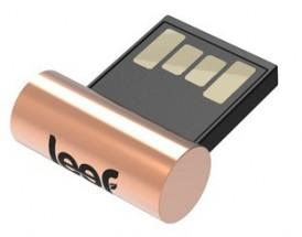 Leef USB 64GB Surge Copper 2.0 black