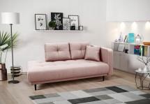 Leňoška Bony s úložným priestorom, pravá strana, ružová