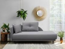 Leňoška Ize s úložným priestorom, ľavá strana, sivá - VYSTAVENÉ