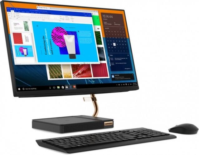 "Lenovo All-in-one A540, 23.8"", /Ryzen3/8G/1T/INT/W10H čierny"