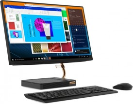 """Lenovo All-in-one A540, 23.8"""", /Ryzen3/8G/1T/INT/W10H čierny + ZADARMO slúchadlá Genesis Neon 350 v hodnote 20 EUR"""