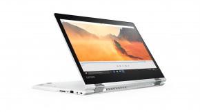 Lenovo IdeaPad Yoga 80VB0013CK, biela/čierna + DRAK!