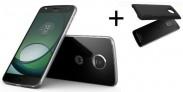 Lenovo Moto Z Play + Incipio Power Pack, čierna