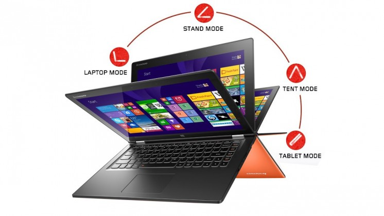 Lenovo Notebook Multimode Premium YOGA 2 13 Silver 59-433650 ROZB