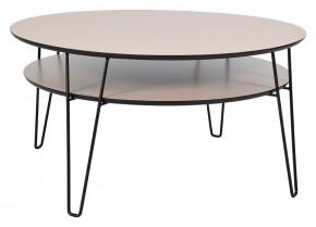 Leon - Konferenčný stolík, okrúhly (dubová dyha)
