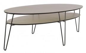 Leon - Konferenčný stolík, oválny (dubová dyha)