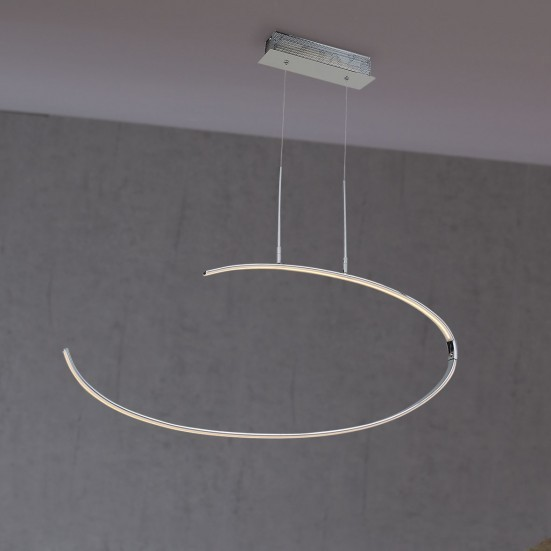 Lex - Stropné osvetlenie, LED (chróm)