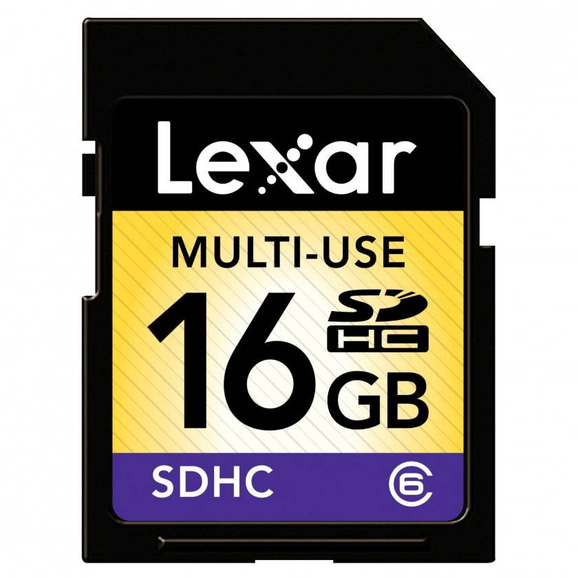 Lexar 16GB SDHC (Class 6)