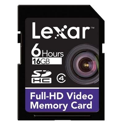 Lexar SDHC 16GB (LSD16GFSBEUHD)