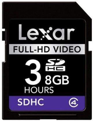 Lexar SDHC 8GB class 4