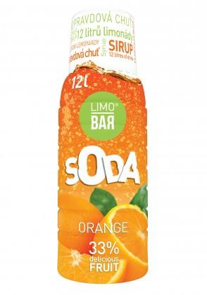 Limobary, sirupy Limo Bar LB123ORAN