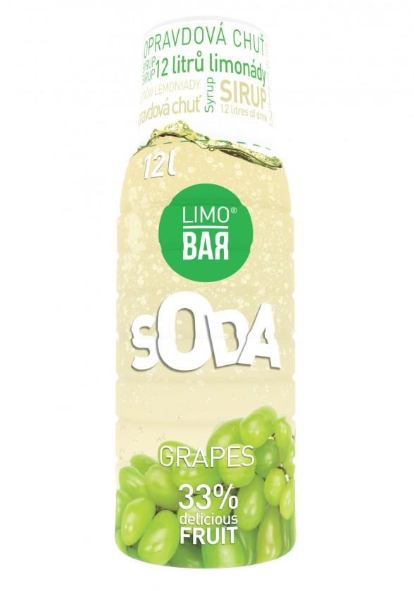 Limobary, sirupy Sirup Limo Bar, Strapec, 500ml