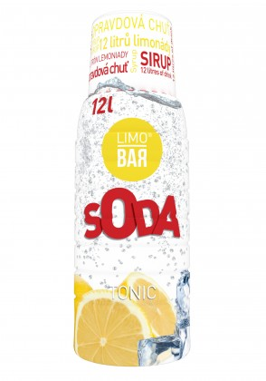 Limobary, sirupy Sirup Limo Bar, Tonic, 500ml