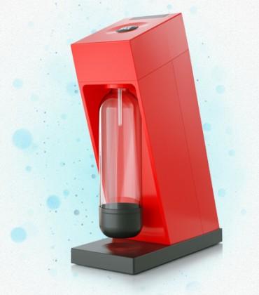 Limobary, sirupy Výrobník sódy LIMO BAR Edge Red