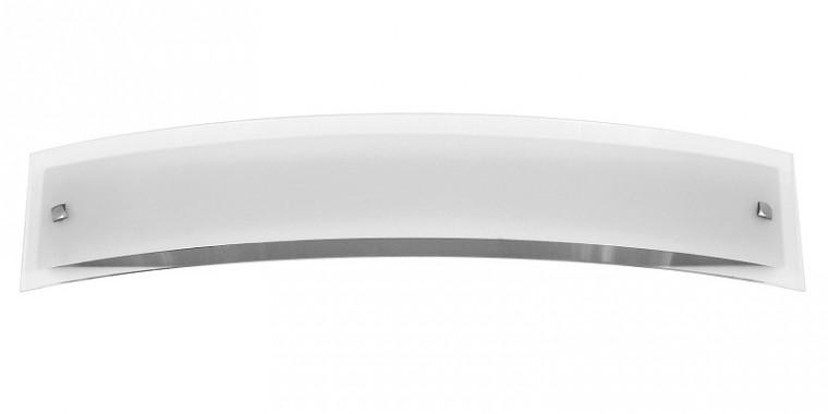 Line - Nástenná svietidla, E16 (biela/saténový chrom)