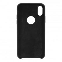 Liquid metal plate iPhone X black