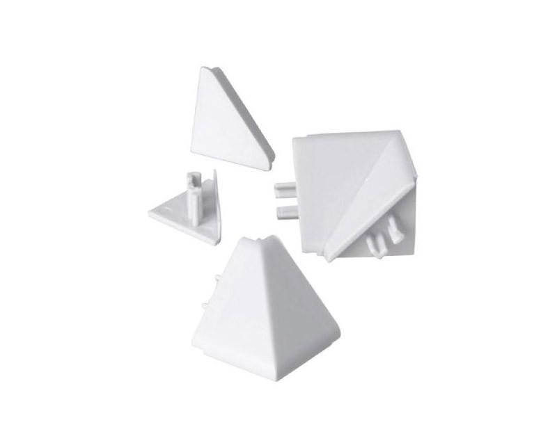 Lišty na kuchynskú linku Zakončenie lišty na kuchynskú linku (biela)