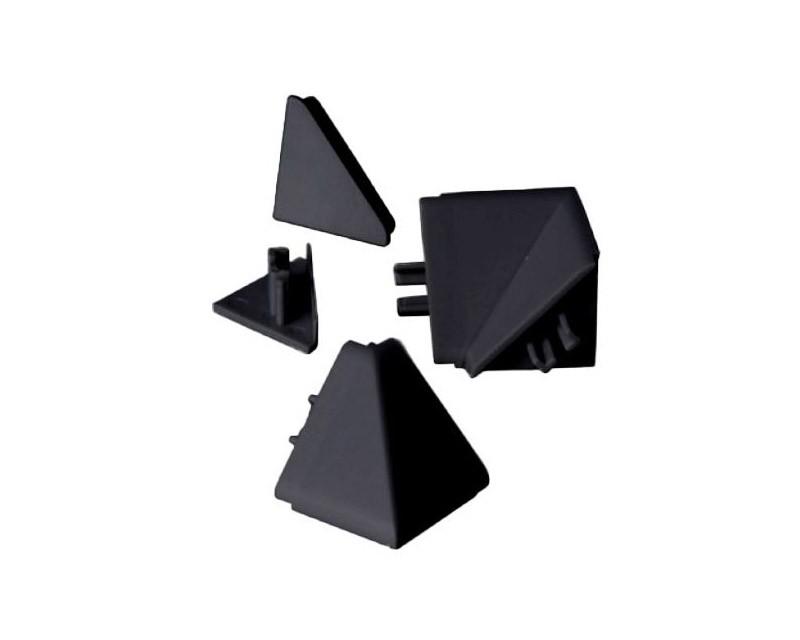 Lišty na kuchynskú linku Zakončenie lišty na kuchynskú linku (čierna)