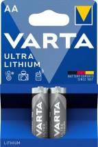 Lítiová tužková batéria Varta Profi, AA, 2ks
