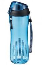 LOC&LOC ABF638B Športová fľaša na pitie,550ml,modrá