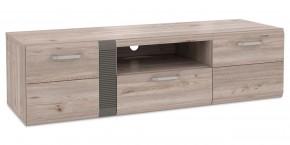 Locarno - TV stolík, LCRT131-N92 (dub nelson/sivá mat)