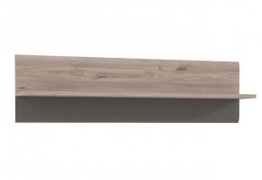 Locarno - Závesná polica, LCRB01-N92 (dub nelson/sivá mat)