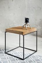 Loft - Konferenčný stolík štvorec nízky, 40x40x40 cm