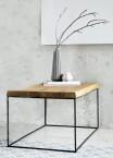 Loft - Konferenčný stolík štvorec nízky, 60x46x60 cm