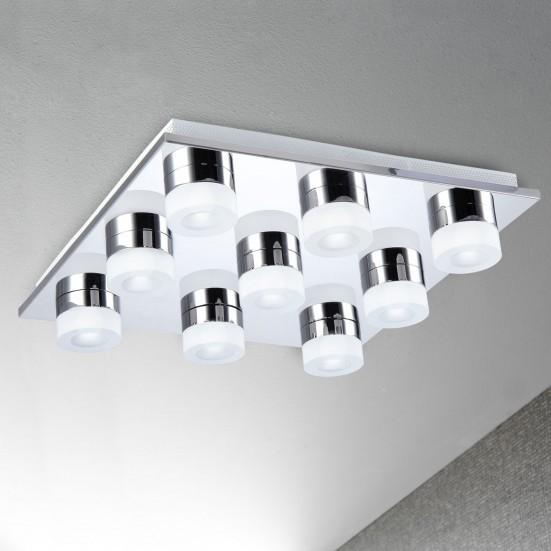 Logan - Stropné osvetlenie, LED (chróm)