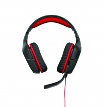 Logitech Gaming Headset G230, red