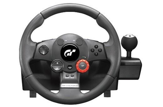 Logitech volant Logitech Driving Force GT pre PS3, PC NEKOMPLETNÉ