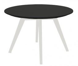 Lola Bess - Konferenčný stolík, čierna,biela (9317-001+9366-024)