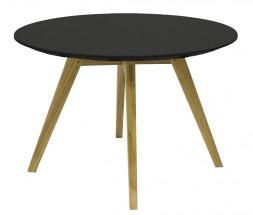 Lola Bess - Konferenčný stolík, čierna, dub (9317-054+9366-024)