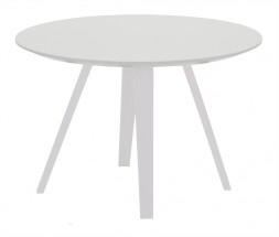 Lola Ella - Konferenčný stolík, biela, biela (9315-001+9366-001)