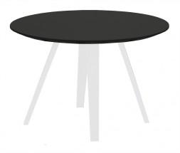 Lola Ella - Konferenčný stolík, čierna,biela (9315-001+9366-024)