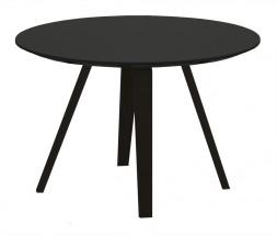 Lola Ella - Konferenčný stolík,čierna,čierna (9315-024+9366-024)
