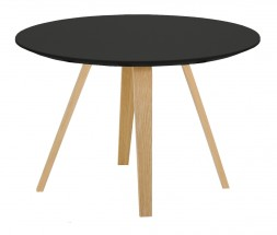 Lola Ella - Konferenčný stolík, čierna, dub (9315-054+9366-024)