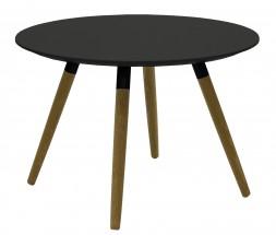 Lola Fido - Konferenčný stolík,čierna,čierna (9315-154+9366-024)