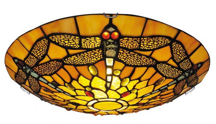 Loretta - Stropné osvetlenie, 8009 (bronzová)