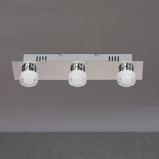 Lorient - Nástenné svietidlo, LED (matný nikel/chróm)
