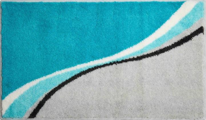 Luca - Kúpeľňová predložka 70x120 cm (tyrkysová)
