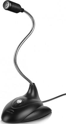 LUCENT Flexible Desktop Microphone, black